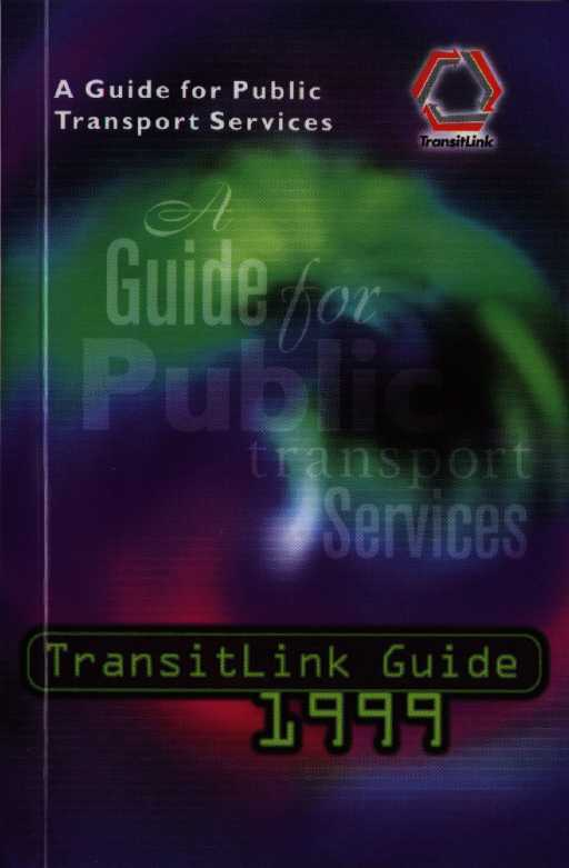 singapore TRANSITLINK guide 1999