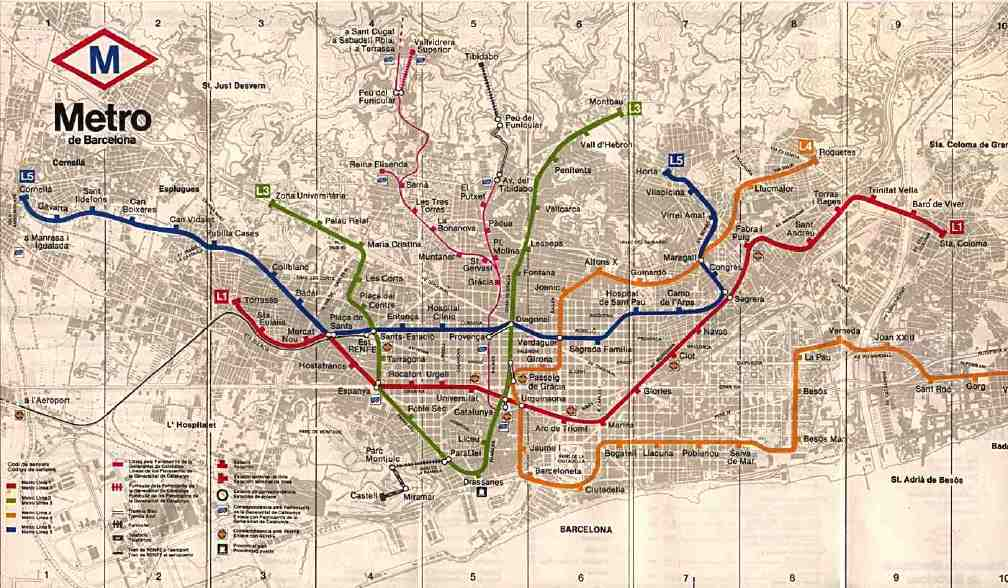 1980 Nyc Subway Map.Subways Transport