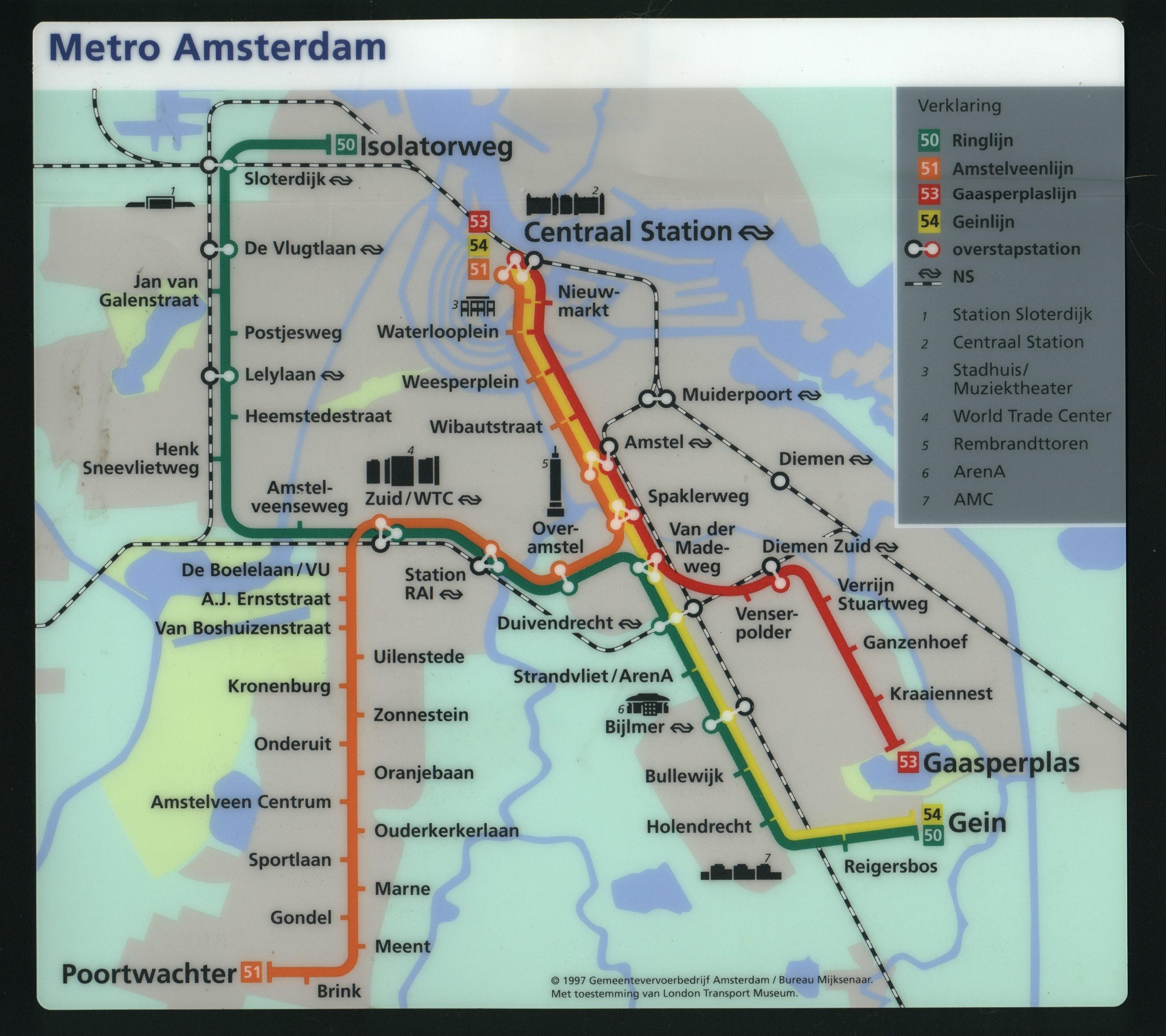 Oslo tram map