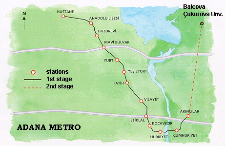 G Subway Map.Subways Transport